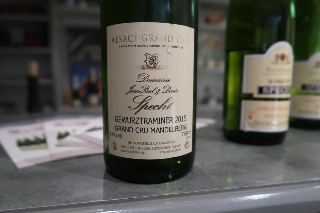 Alsace wine route Domaine SPECHT Grand Cru