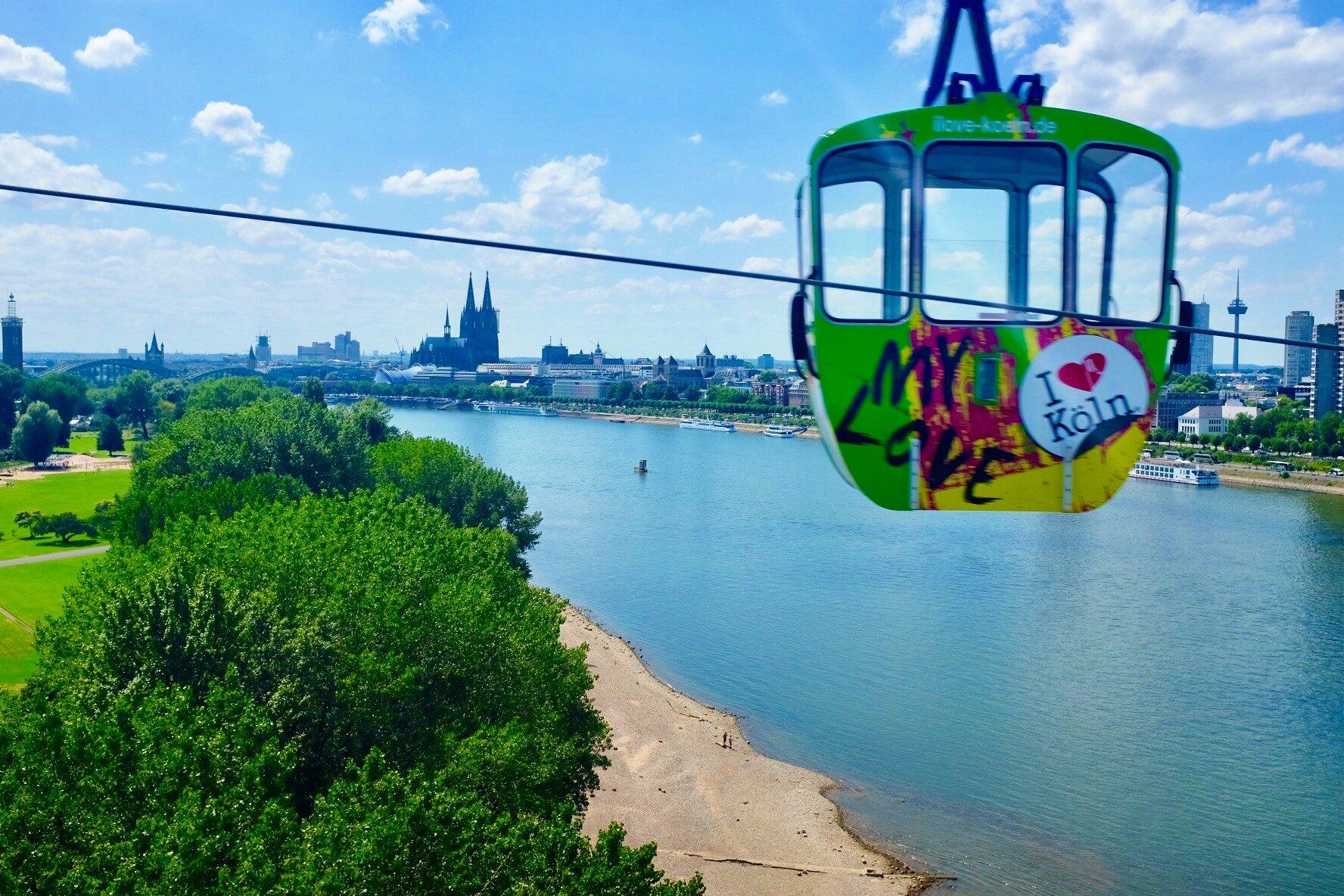 gondola Rhein Köln Cologne Gallery Trip Gourmets