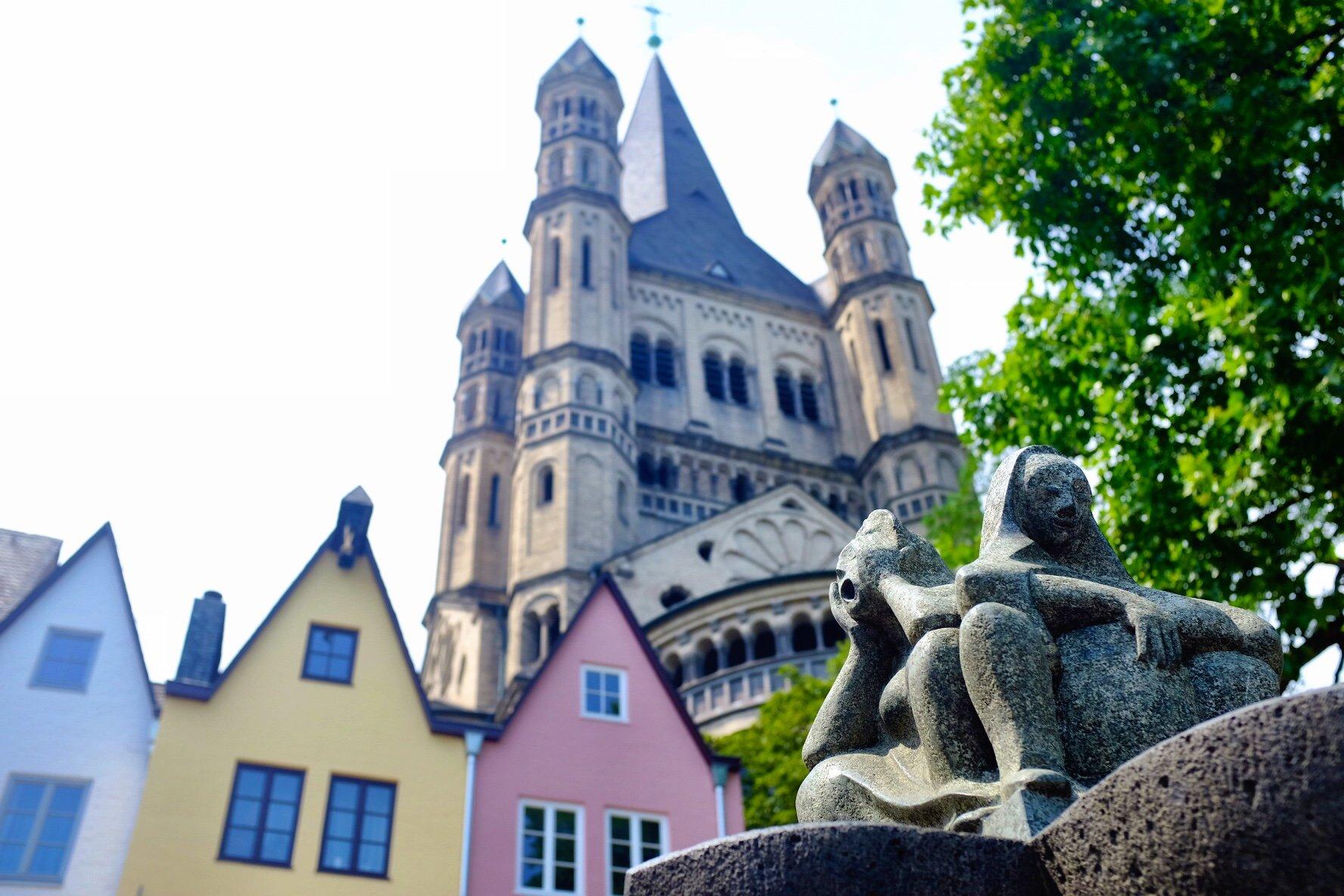 fountain church St.Martin Köln Cologne Gallery Trip Gourmets