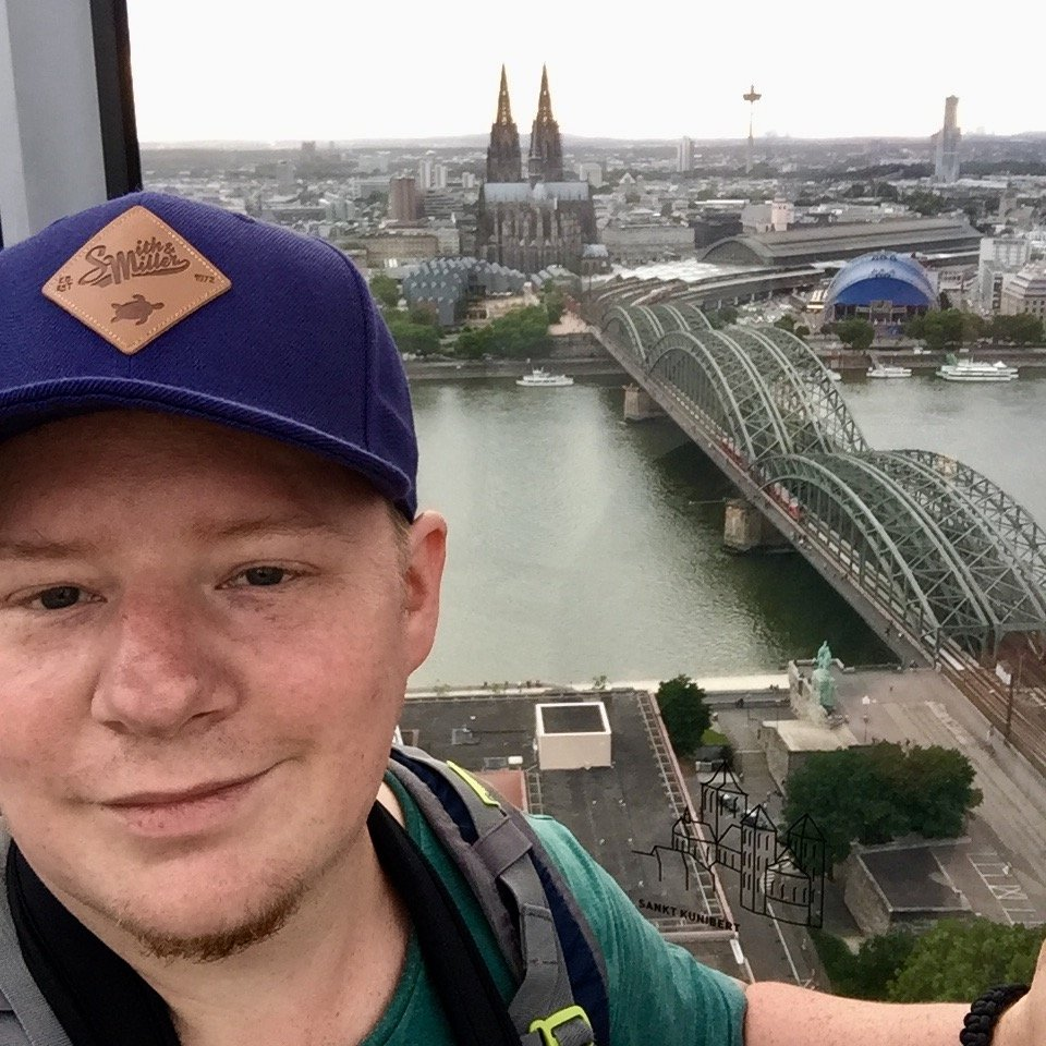 selfie Köln Cologne Gallery Trip Gourmets