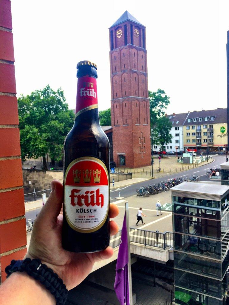 Früh Bier beer tower Cologne Gallery Trip Gourmets