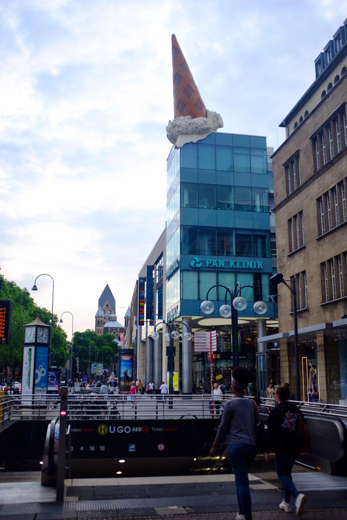Köln Street Art Ice Cream Cologne Gallery Trip Gourmets