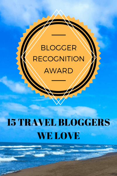 blogger recognition awards 15 travel bloggers we love TripGourmets