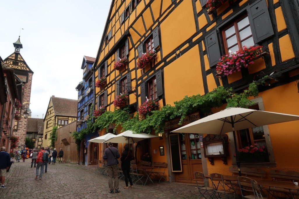 Riquewihr, Alsace, shot with Canon G7 X Mark II best cameras for travel photography