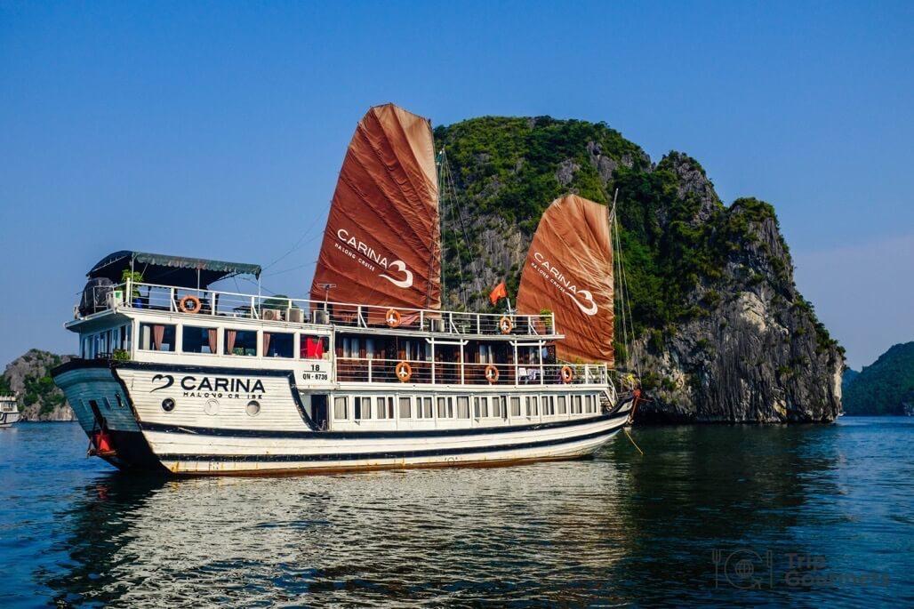 Halong bay cruise review carina boat islet