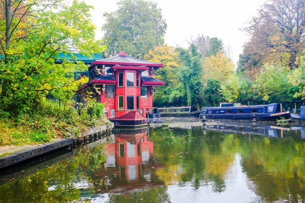 Tripgourmets Walking Regents Canal Chinese Restaurant Boat Floating