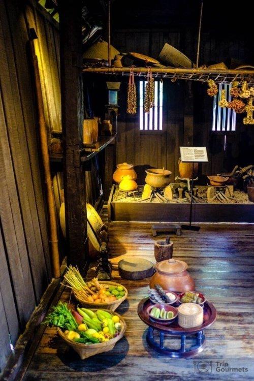 Kamthieng House Sukhumvit Bangkok traditional Lanna building kitchen stove