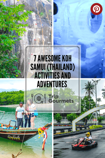 Activities Koh Samui pinterest pin