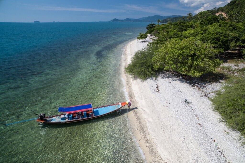 Activities Koh Samui island koh tan boat beach