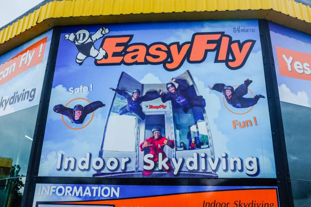 Activities Koh Samui easyfly indoor skydiving