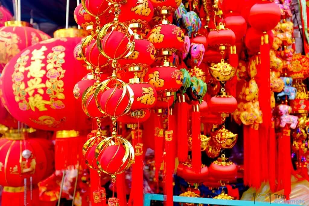 Best Markets in Bangkok Sampeng lane market china lampions chinatown
