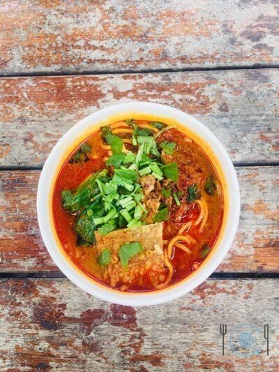 Best food in Ipoh - Curry Mee