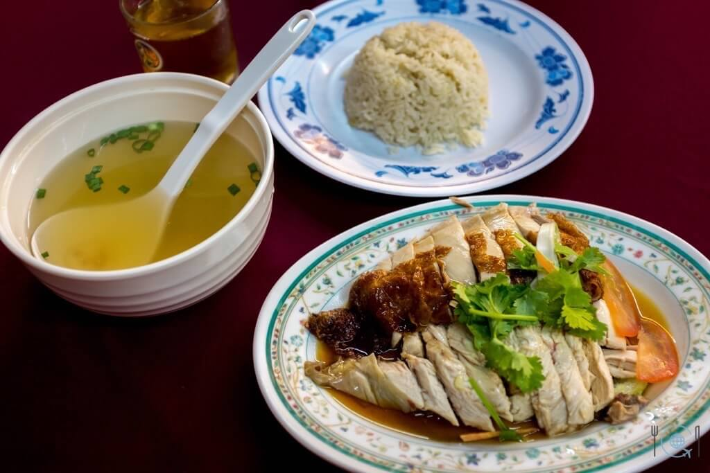 Best food in Ipoh - Hainanese Chicken