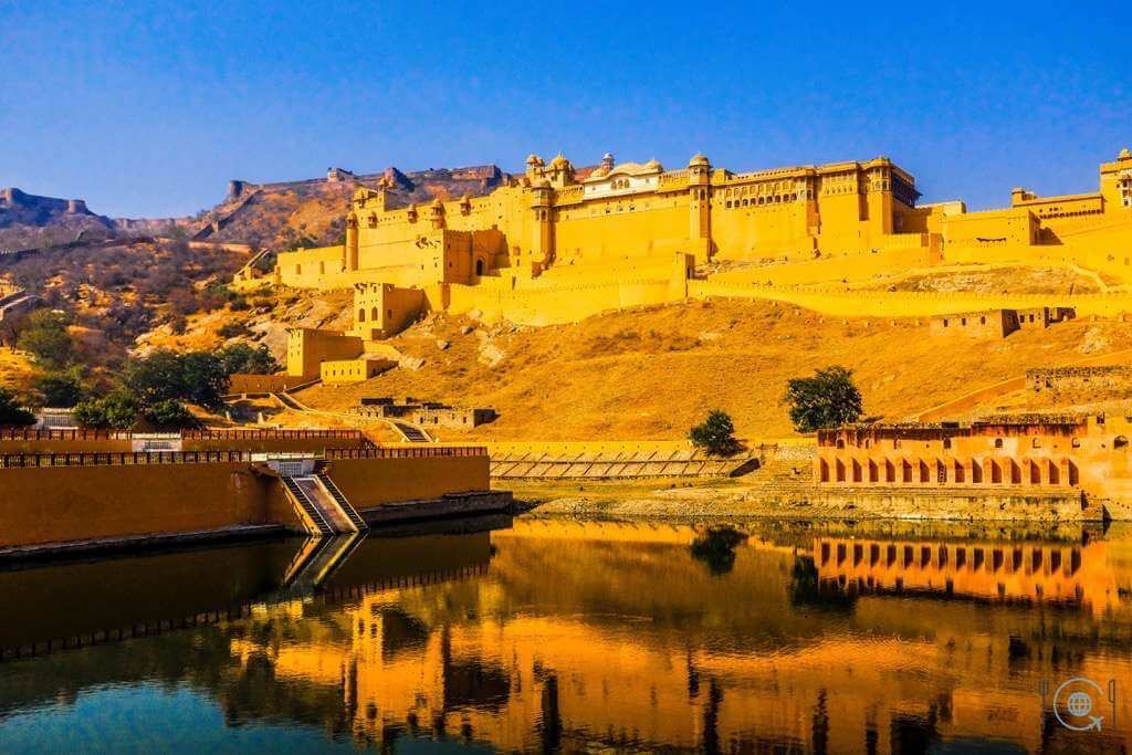 Jaipur itinerary Amer Fort from outside