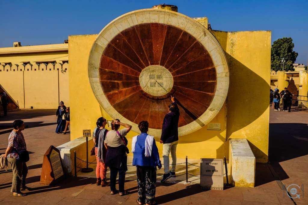 Jaipur itinerary - Jantar Mantar sundial