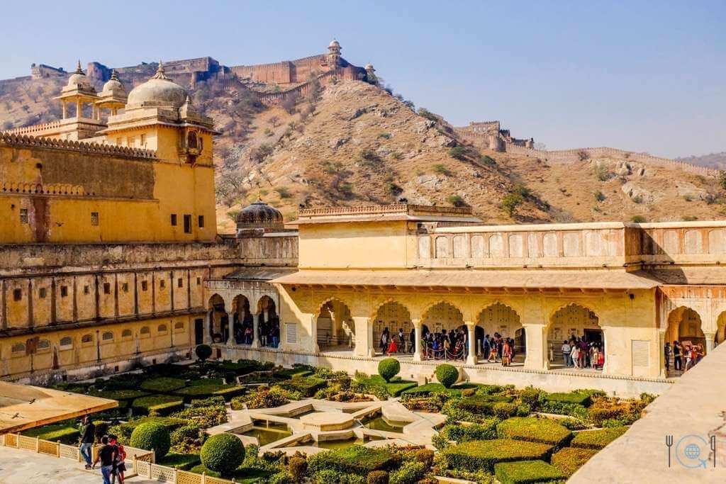Jaipur itinerary Third Courtyard of Amer Fort