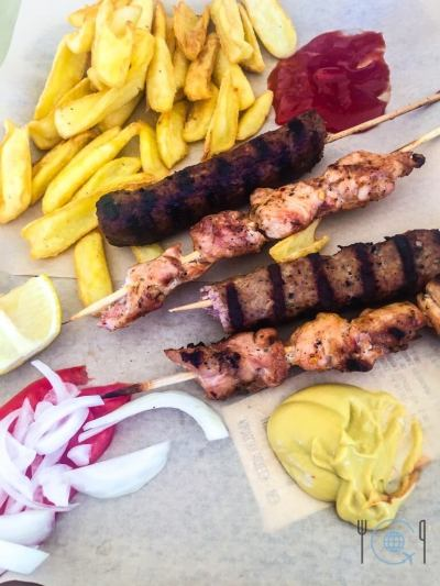 Sightseeing Thessaloniki Skewers