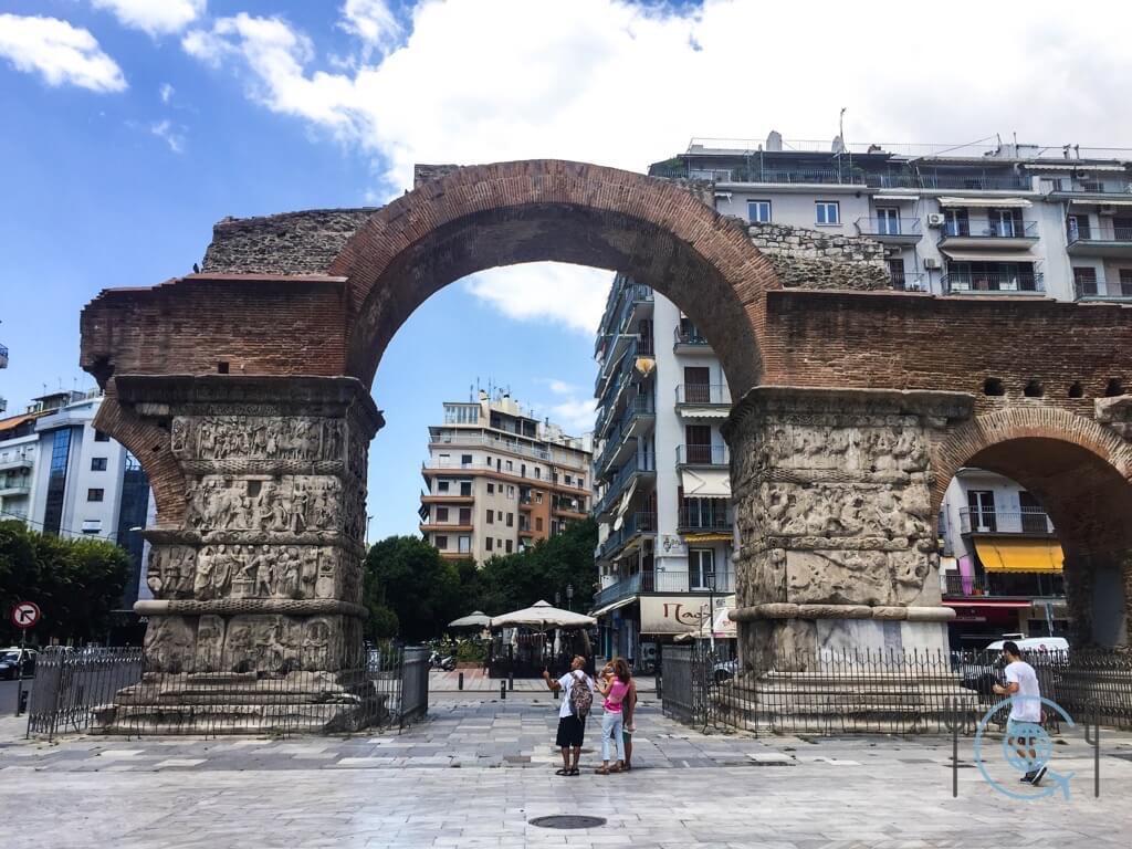 Sightseeing Thessaloniki Arch Galerius
