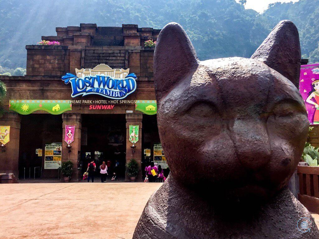 Things to do in Ipoh - Lost world of Tambun Entrance