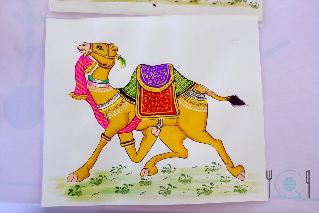 Udaipur Sightseeing Camel Mewar Painting