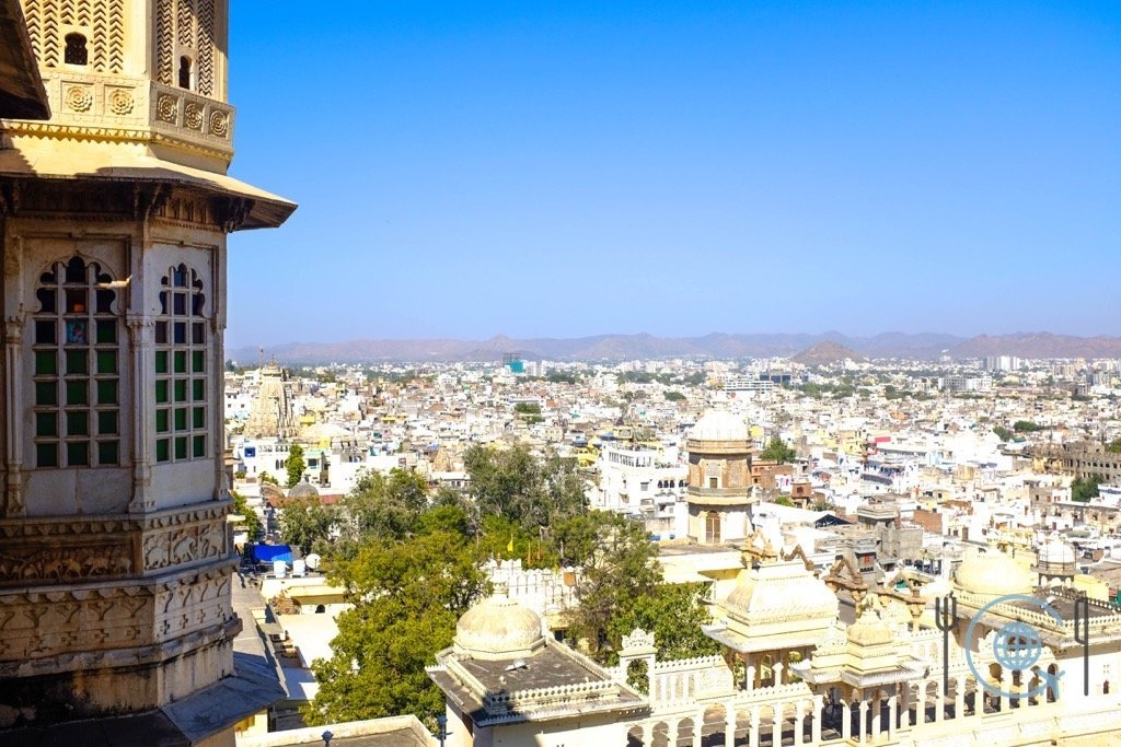 Udaipur Sightseeing View from Badi Mahal