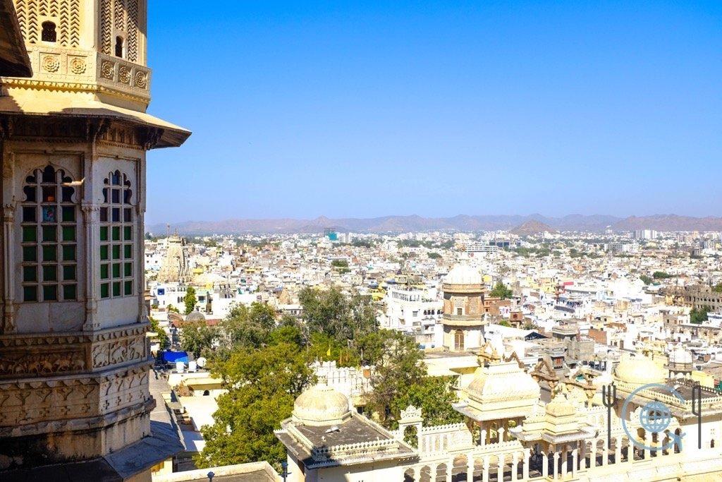 Udaipur Sightseeing View from Badi Mahal