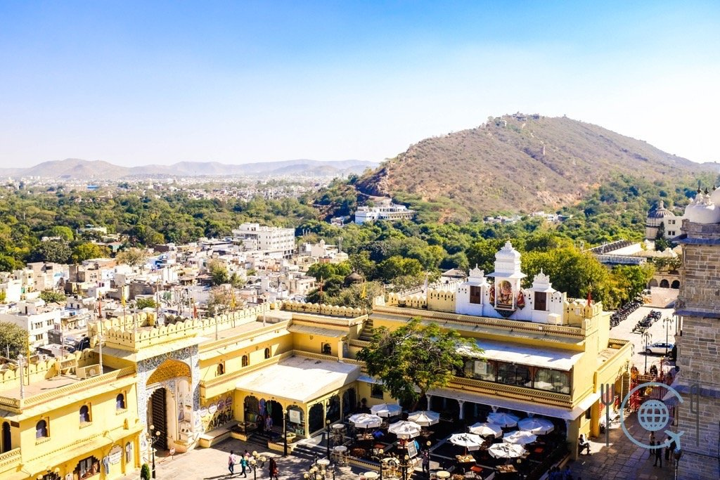 Udaipur Sightseeing - View from Zenana Mahal