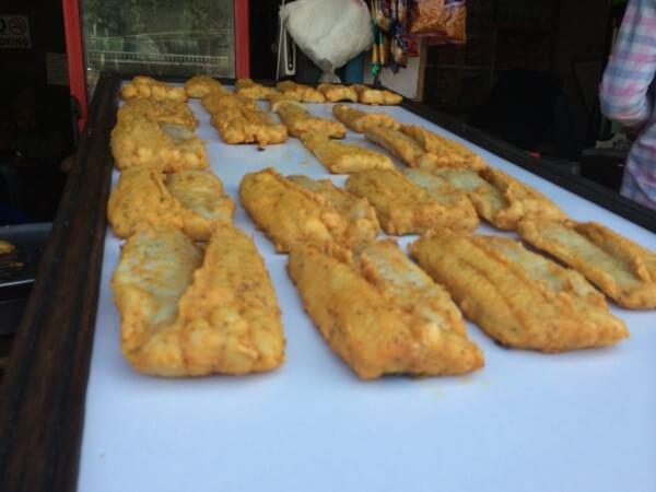 Best street food in Asia Amritsari Fish Fry