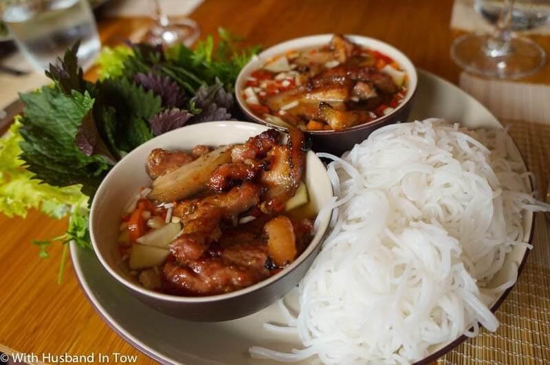 best street food in asia bun cha
