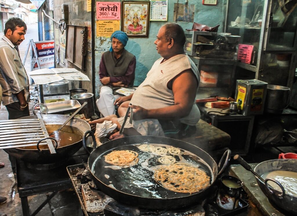 Best Street Food In Asia Jalebi