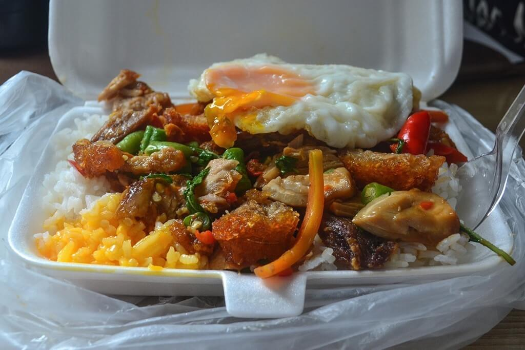 best street food in asia kaprao moo grob