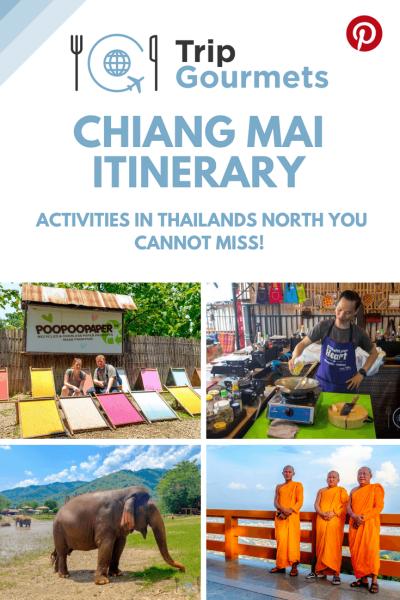 CHIANG MAI ITINERARY