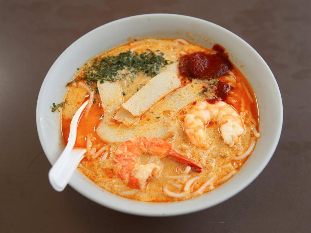 Best street food in Asia Katong Laksa