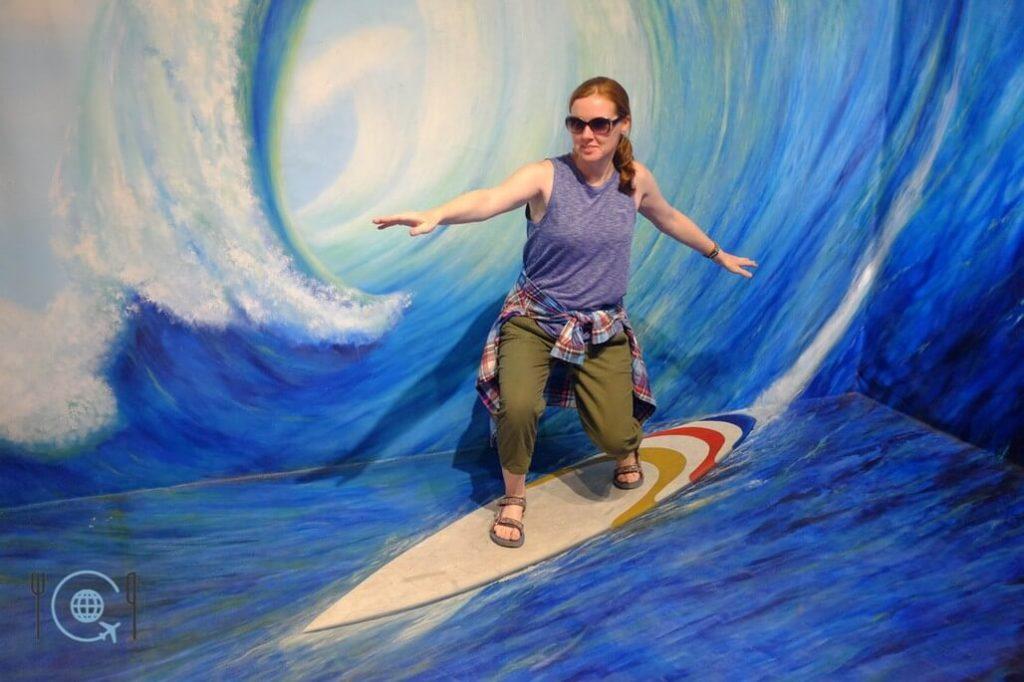 Kuala Lumpur Itinerary Illusion 3D Surfing