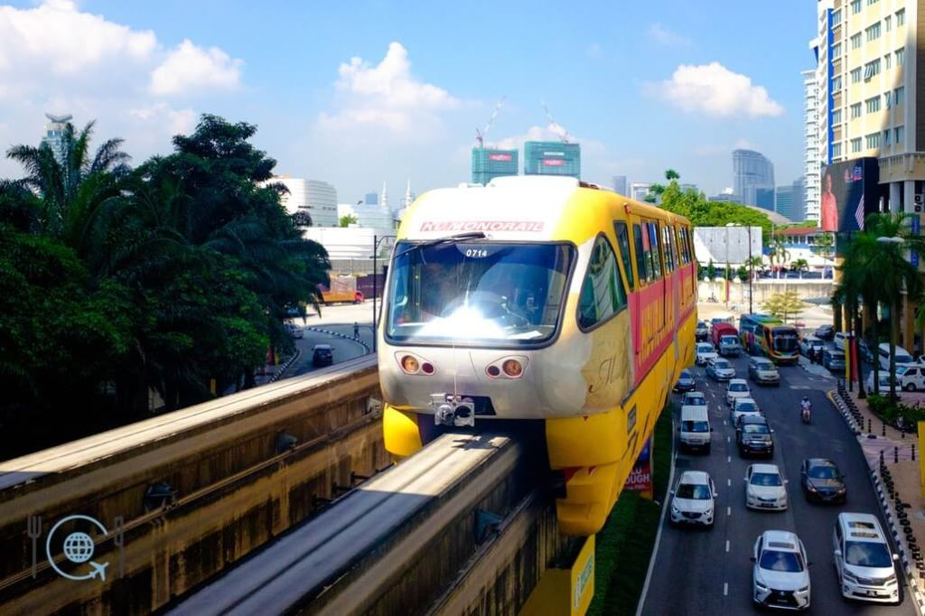 Kuala Lumpur Itinerary Monorail