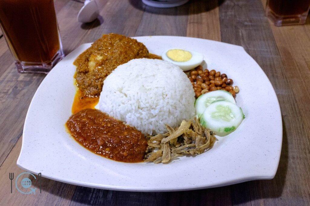 Kuala Lumpur Itinerary Nasi Lemak