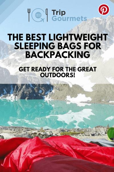 Best lightweight sleeping bags for backpacking Pinterest