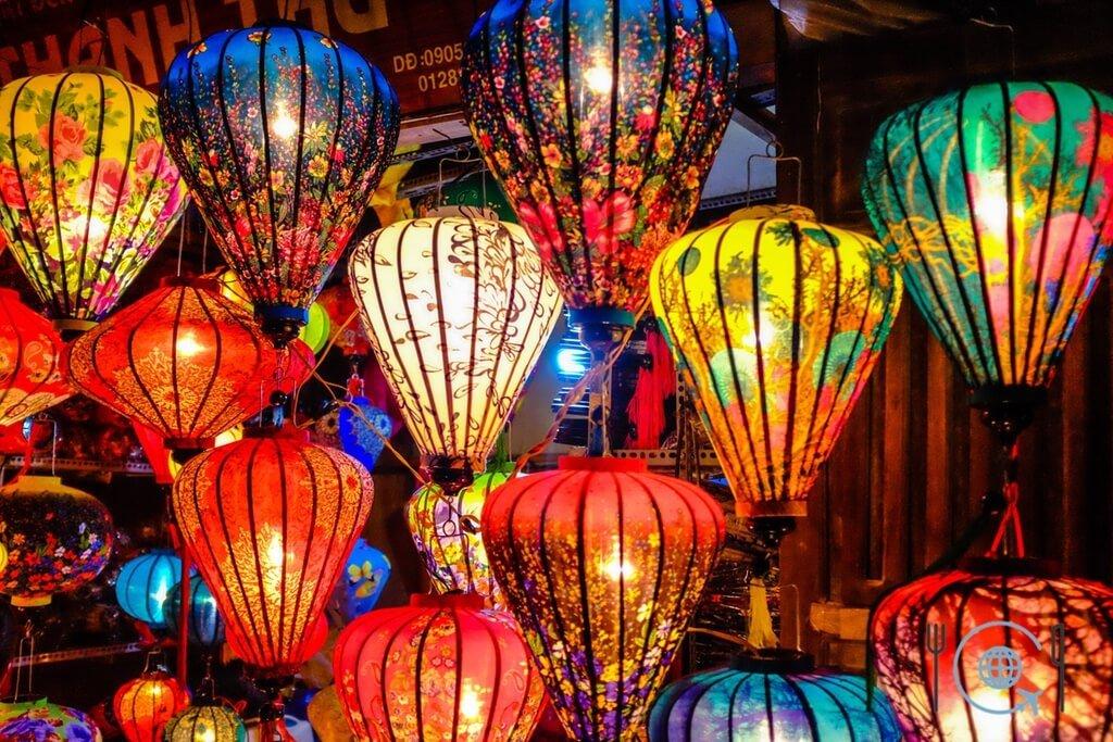 Vietnam 3 week itinerary Hoi An lanterns