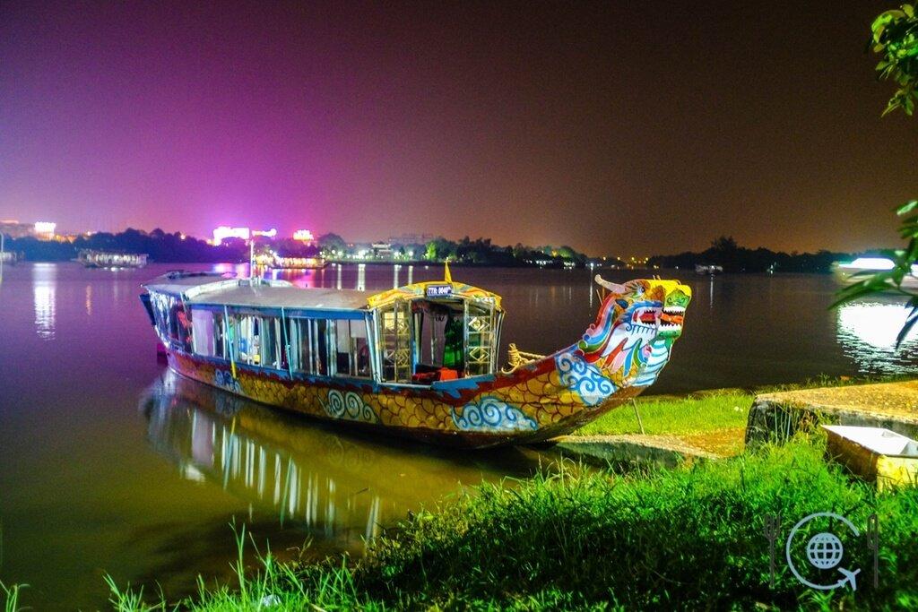 Vietnam 3 week itinerary Hue dragon boat