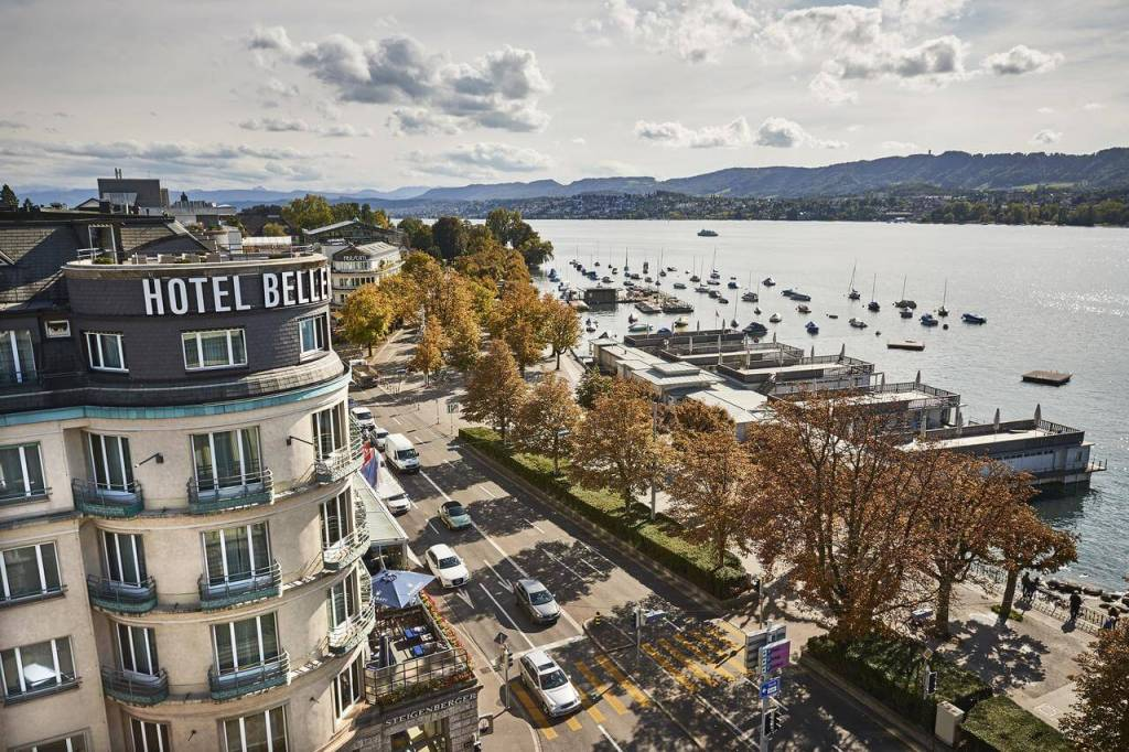 Best places to stay in Zurich Steigenberger Hotel Bellerive au Lac
