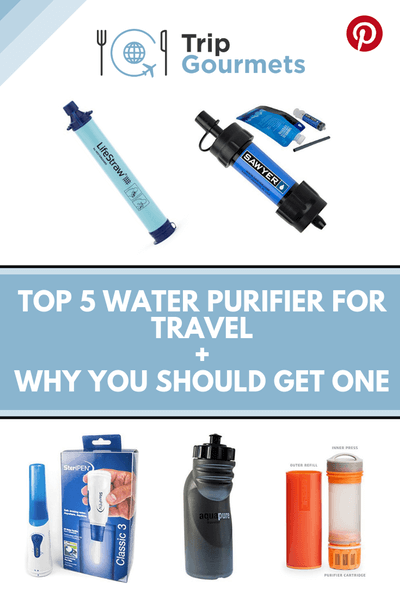 OP 5 WATER PURIFIER FOR TRAVEL + WHY YOU SHOULD GET ONE