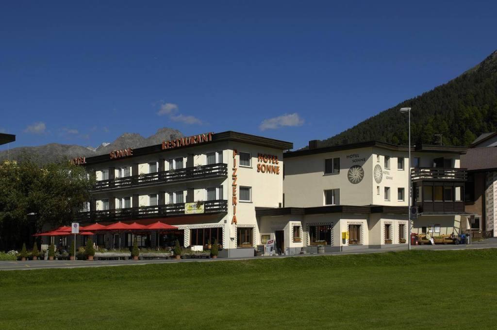 St Moritz Accommodation Hotel Sonne