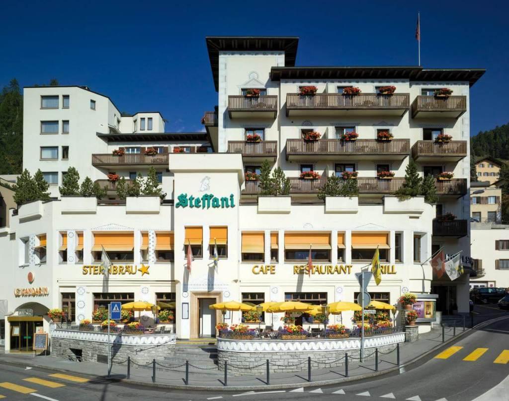St Moritz Accommodation Hotel Steffani