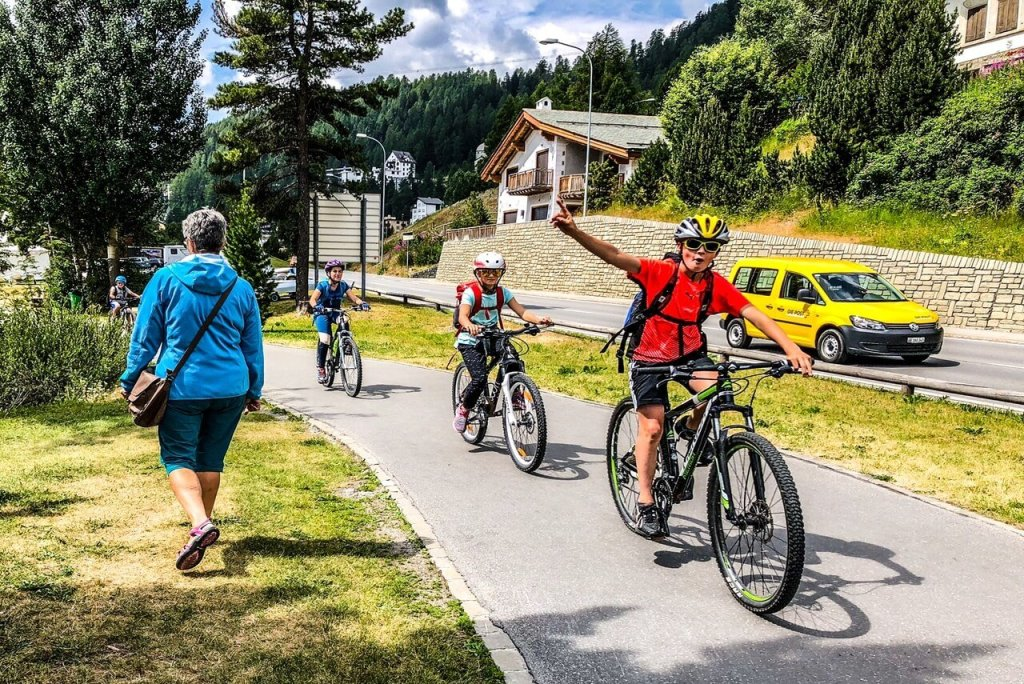 Things to do in St Moritz - Biking