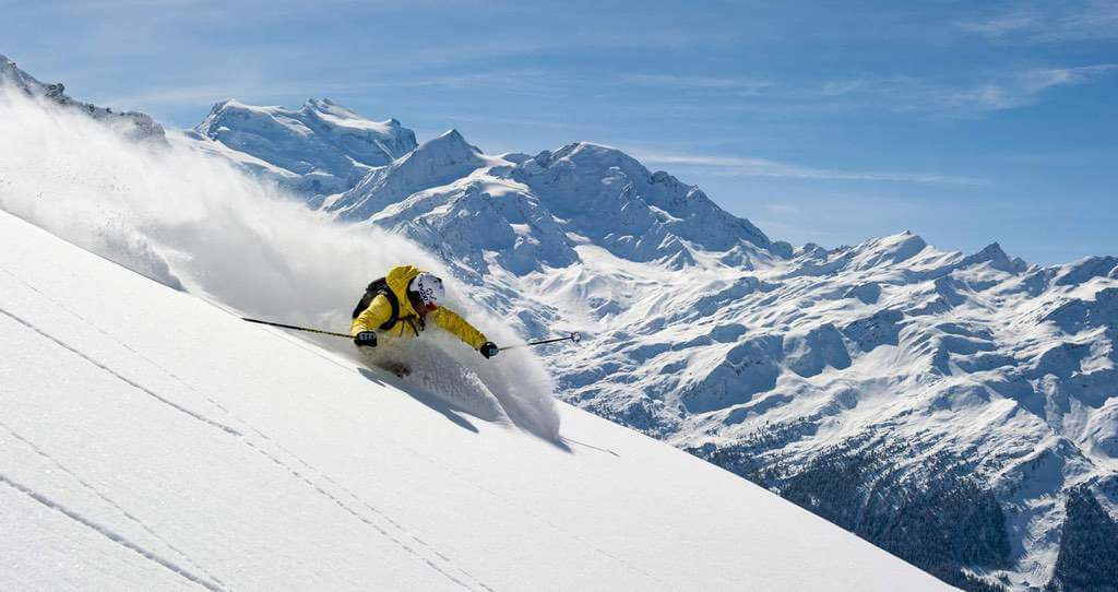 Switzerland Winter Holidays : Les Quatres Vallees : Copyright by 4 Vallées