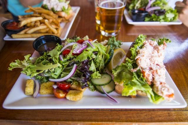 Sandwich de langosta Bar Harbor