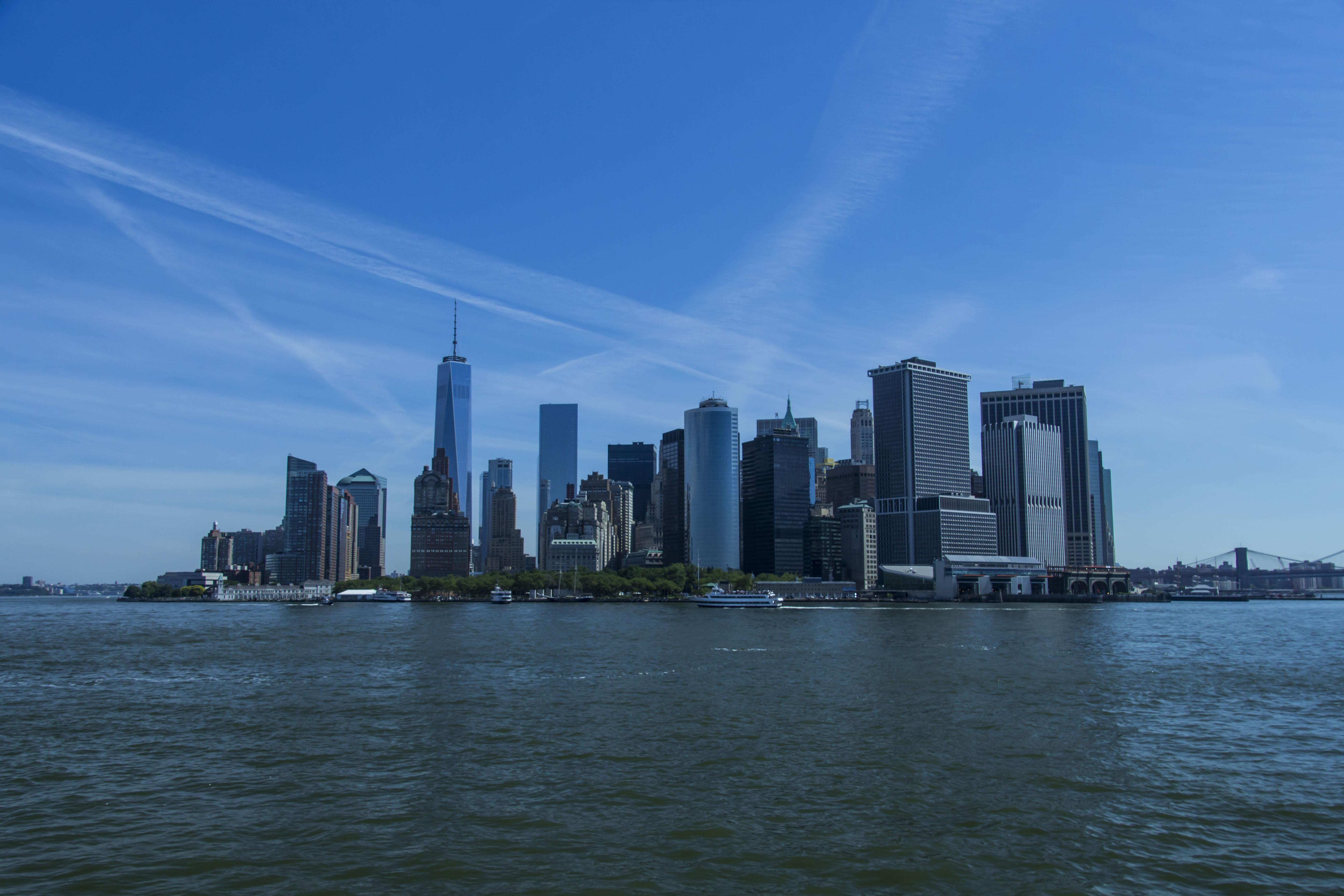 Manhattan desde barco
