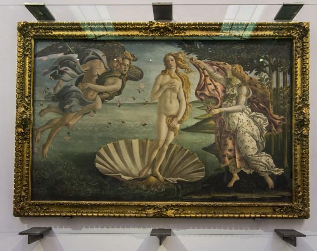 El nacimiento de Venus: Botticelli