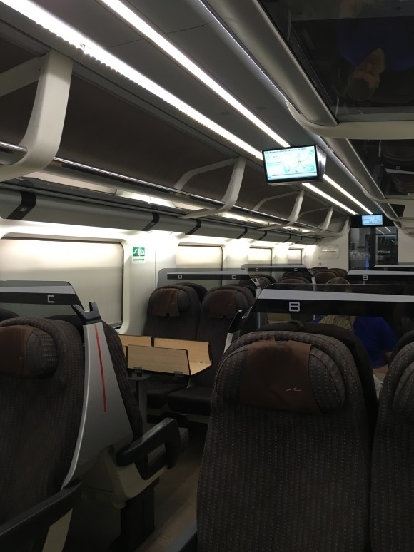 Vagón del tren rápido Fressiarrosa