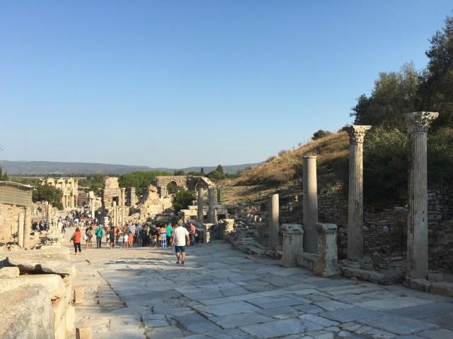 Vía Curetos Éfeso Turquía